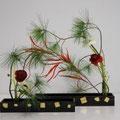 R. Dollberg: Ranunkeln, Anemonen, Kiefern, gefärbtes Gras