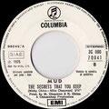 Department of youth / The secrets that you keep (Mud) - Italia - Juke Box - B