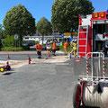 © Feuerwehr Völksen - Verkehrsunfall - 23.06.2020