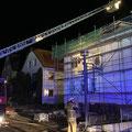 © Feuerwehr Völksen - Dachstuhlbrand Springe - 21.01.2020