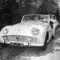 TRIUMPH TR3  Photo prise en 1958 avec KODAK Brownie Flash