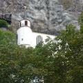 Auch die berühmte Felsenkirche begrüßte die Ehrenoffiziere