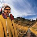 Apacheta. Guard of the roads, Quechua culture, Peru. 2005
