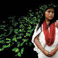 Awishama. Owner of coca, Wiwa culture, Colombia. 2004