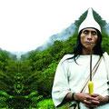Kalakshé. Owner of forest, Kogui culture, Colombia. 2004