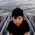 Iboribó. Boy-god of fishes, Pemon Culture, Venezuela. 2003