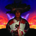 Tatevarí. Fire God, Huichol culture, Mexico. 2004