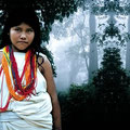 Kalavia. Owner of forest, Kogui culture, Colombia. 2004