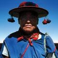Wirikuta. God of the holy desert, Huichol culture, Mexico. 2002
