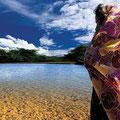 Pulowi. Goddess of earth, Wayuu culture, Venezuela. 2005
