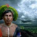 Bepkororotí. Owner of storms. Kayapo culture, Brazil. 2006