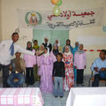réception par une association bénéficiaire de notre aide