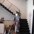 Escalera modelo Spargaro