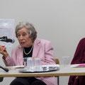 Die beiden Zeitzeuginnen zum Lehrerinnenstreik: L.Thordai und Dr. U. Krattiger, Foto Regine Flury