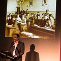 Rektor Roger Morger  bei der Begrüssung und Einführung, Foto Regine Flury