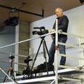 Werner Laschinger, Filmaufnahmen und Tontechnik