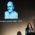 A.Heiniger während dem Einführungereferat, Foto Regine Flury