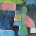 """""""Der weiße Fleck"""", Acryl auf Leinwand, 55 x 45 cm"""