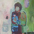 """Alexandra"", Acryl auf Leinwand, 50 x 40 cm"