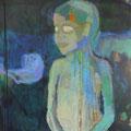 """""""Junge III"""", Acryl/Mischtechnik auf Leinwand, 80 x 60 cm"""