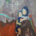 """""""Kind"""", Acryl/Mischtechnik auf Hartfaser, 24 x 18 cm"""