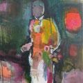 """""""Mann"""", Acryl auf Leinwand, 60 x 55 cm"""