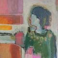 """""""Frieda"""", Acryl auf Leinwand, 55 x 50 cm"""