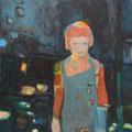 """Verborgen"", Acryl auf Leinwand, 60 x 50 cm"