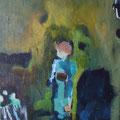 """Junge"", Acryl auf Leinwand, 25 x 20 cm"