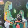 """""""Mädchen"""", Acryl auf Leinwand, 50 x 40 cm"""