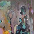 """Nebel"", Acryl auf Leinwand, 30 x 30 cm"