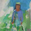 """Roberta"", Acryl auf Leinwand/Karton, 30 x 24 cm"