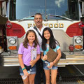 In front of Engine 7