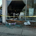 South Ave - Car into Building