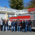 Members of Fanwood FD, Rescue Squad, the Cancun Chief and other emergency personnel