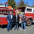 FFD Chief Piccola, Cancun Chief Hurtado and FFD Asst Chief Zawodniak