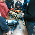 Training led by Assistant Chief Szanto reviewing the RIT Packs