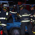 FF Dave Zawodniak, FF Kris Piccola, FF Bill Mauer, FF Brian Piccola and FF Doug Germinder - June 2009 Extrication Drill