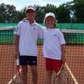 Junioren U12: Lukas Buller (1. Platz, TVA) – Louis Carlos Kuntzer (2. Platz, TVA)