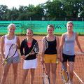Juniorinnen U18: Laura Fischer/Sandra Büttner (1. Platz, TVA) - Marie Bartmann (TVA)/Janina Schön (2. Platz, WB)