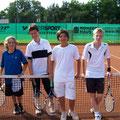 Junioren U14: Marian Kuhn/Matthias Möhler (1. Platz, WB) - Lorenz Himmel/Dominik Bauer (2. Platz, WB)