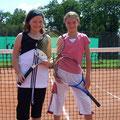 Juniorinnen U12: Chiara Freund (2. Platz, TVA) – Paula Siegmund (1. Platz, TVA)