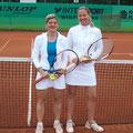 Damen A/B/30A: Nici Dreisbusch (2. Platz, TCS) – Nicole Hackspiel (1. Platz, TVA)