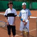Junioren U12: Matthias Möhler (1. Platz, WB) – Julian Hock (2. Platz, PWA)