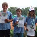 Felix Sommer (2. Platz), Kilian Blank (Sieger), Katharina Wais (3. Platz)