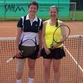 Damen 40: Tanja Eschmann (1. Platz, WSV) – Beate Trapp (2. Platz, WSV)
