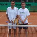 Herren 40 A: Ralf Stantejsky (1. Platz, TVA) – Martin Klucar (2. Platz, PWA)
