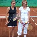 Damen 30B: Eva Frei (1. Platz, WSV) – Jutta Sickenberger (2. Platz, SSKC)