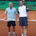 Herren 40B: Stefan Schwind (2. Platz, BSC) – Klaus Reitzmann (1. Platz, WSV)