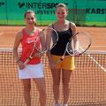 Juniorinnen U18: Sandra Büttner (2. Platz, TVA) - Marie Bartmann (TVA, 1. Platz)